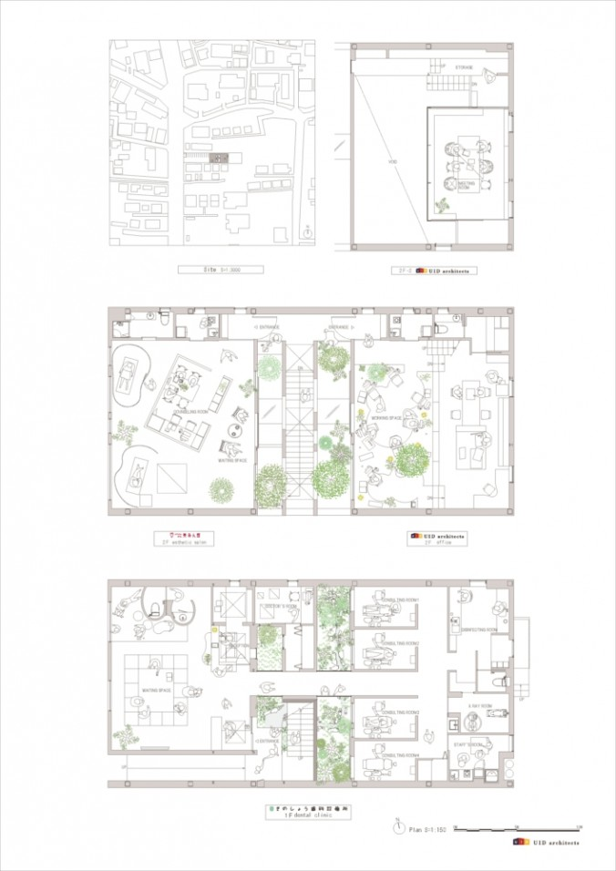 (C)UID-MORI×hako_Plan・site plan cs2-01