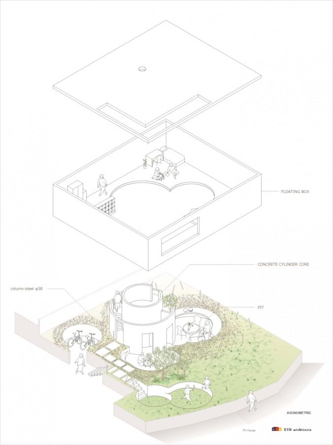 (C)UID-Pit_House_axonometric cs2-01