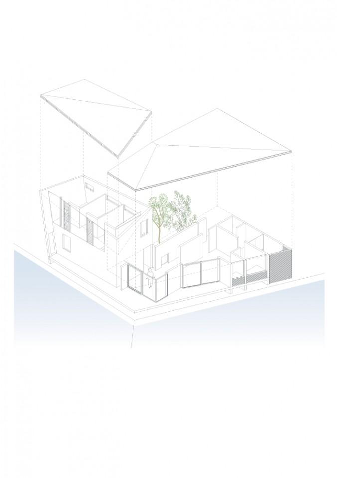 (C)UID-house-in-creek_AXONOMETRIC+SKECTH-cs2