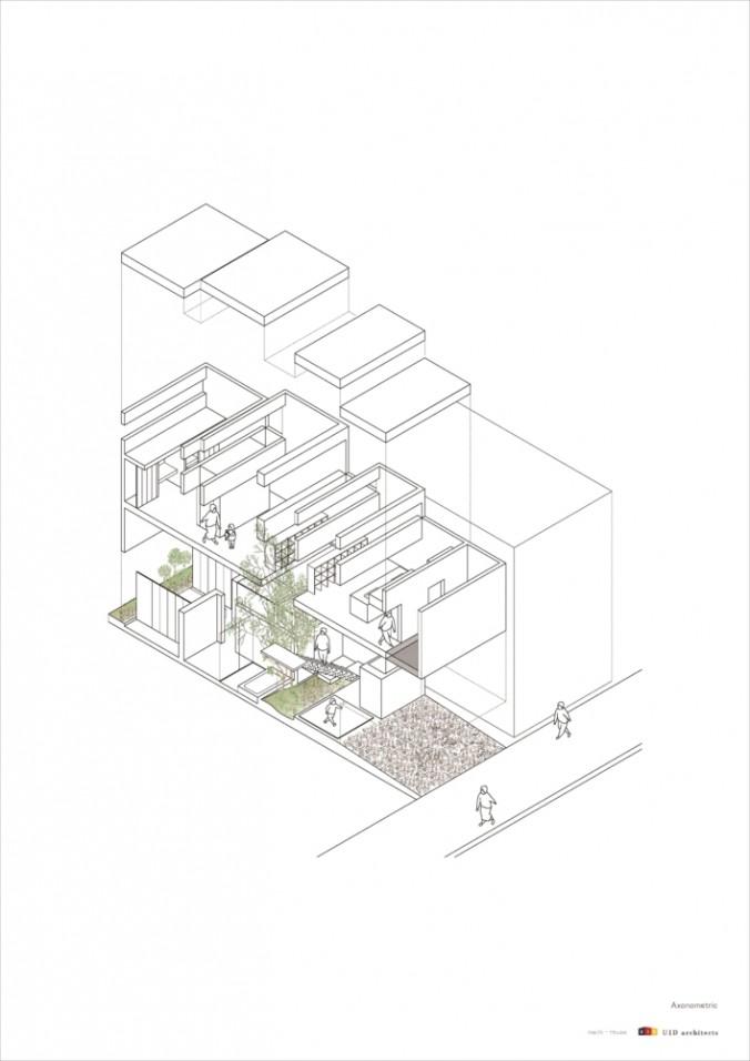 (C)UID-machi-House_axnometric cs2-01