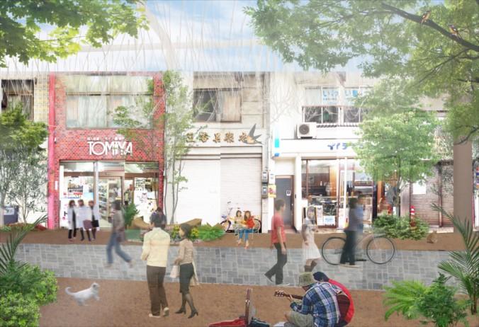 (C)UID-street project@Fukuyama-Renovation-_perspective01