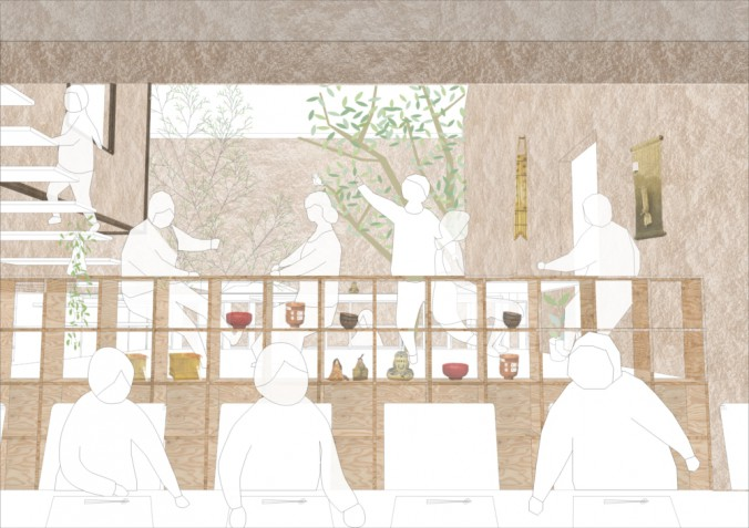 Seikichi Takahara Restaurant_perspective03