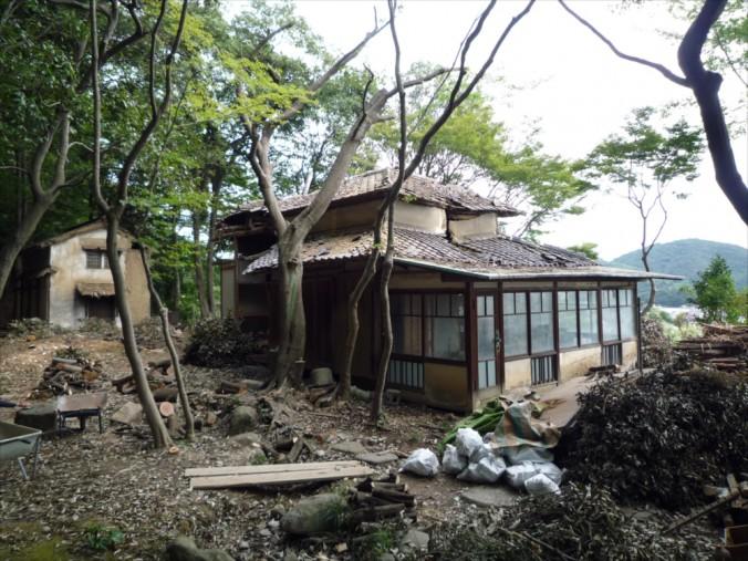(C)UID-後山山荘 既存外観01