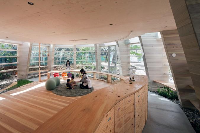 completion date : 2012 principal use : nursery school building site : Fukuyama