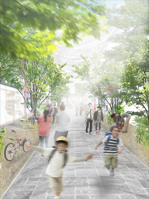 CUID-street-project@Fukuyama-Renovation-a_perspective02_R