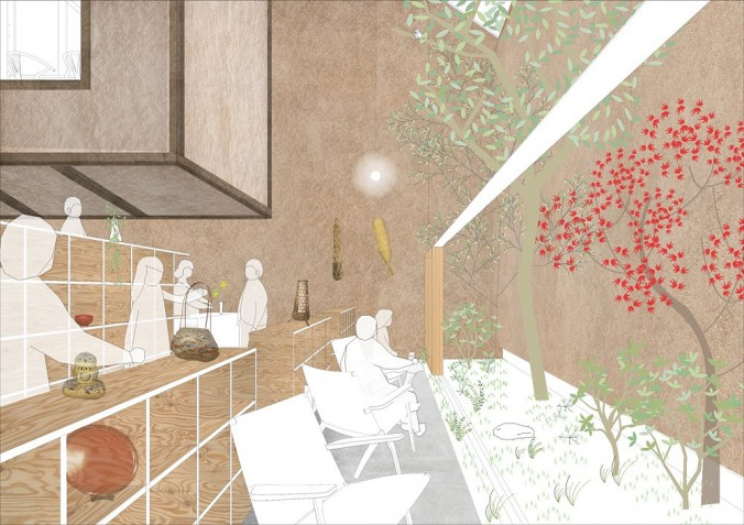 completion date : 2015 principal use : restaurant building site : Onomichi