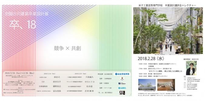 米子工業高等専門学校 卒業設計講評会+レクチャ20ー
